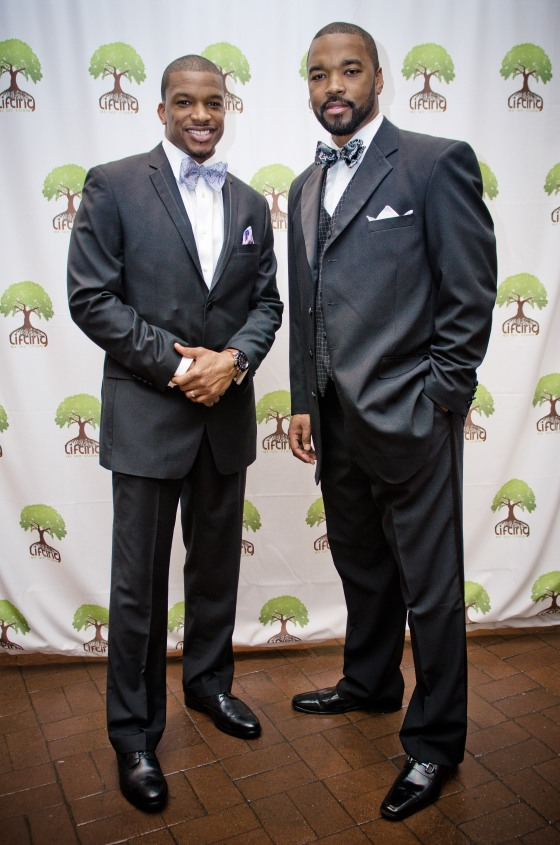 Co-Founders of LAWCF Siraaj Hasan and Curtis Blackwell