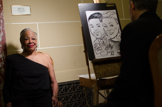 CARICATURE ARTIST MS SHELLY
