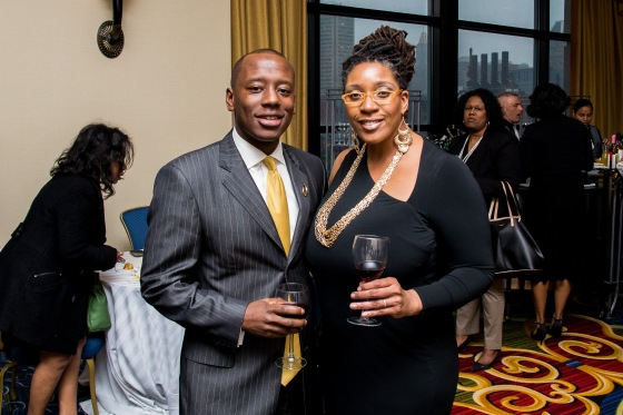 BALTIMORE URBAN LEAGUE Alex and wife