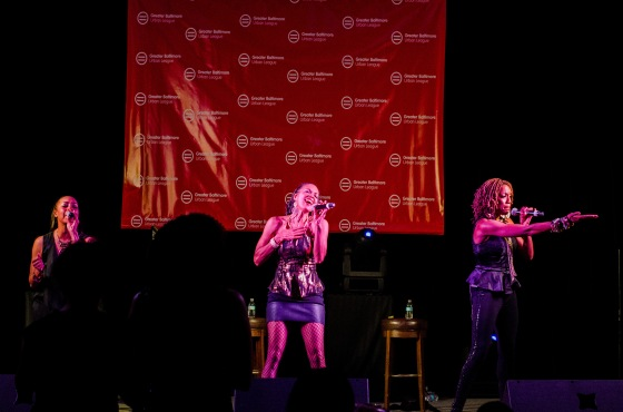 BALTIMORE URBAN LEAGUE En Vogue singing