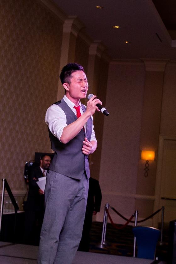 BALTIMORE URBAN LEAGUE Jae Jin singing