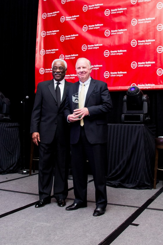 BALTIMORE URBAN LEAGUE Shea award