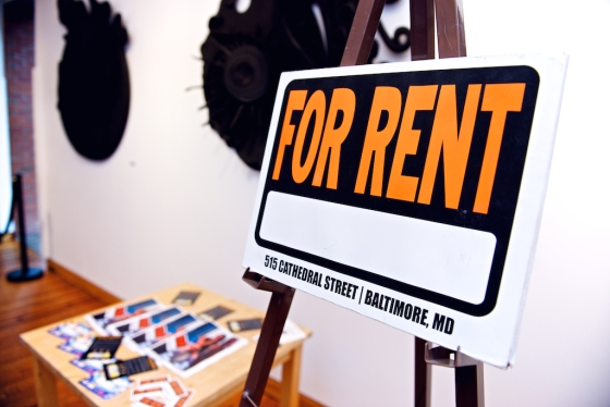 MM For Rent sign