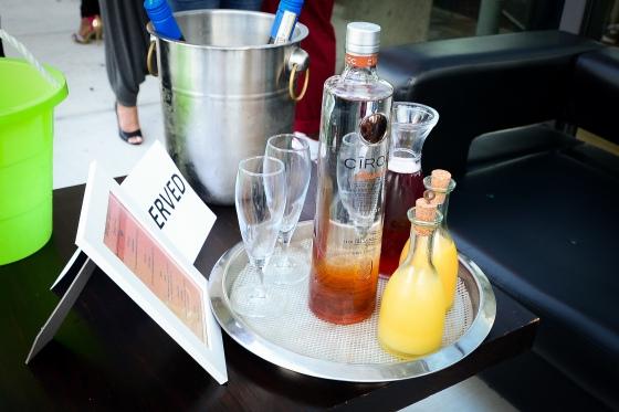 Sol Liquiudo-Ciroc bottles